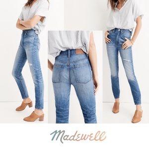 NWT Madewell Rigid High-Rise Skinny Jeans 32